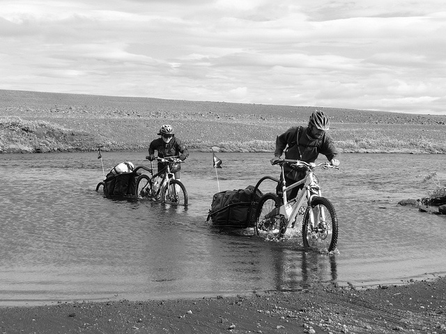 Bicycling Touring Iceland Ring Road