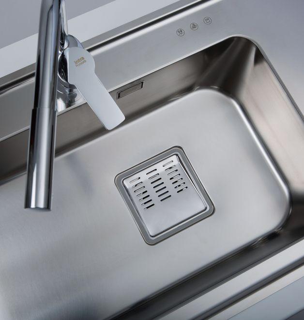 Intra Eligo / Kitchen Sink in Stainless Steel / Manufacturer Intra Mölntorp AB, Sweden www.intra ...