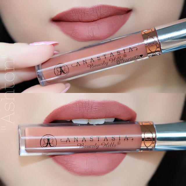 "Anastasia beverly hills liquid lipstick in "" ashton """