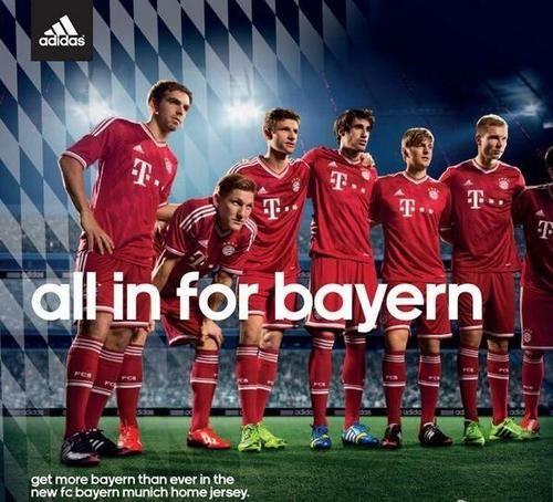 Bayern is all in. #MiaSanMia