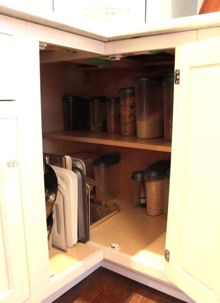 How To Organize Upper Corner Kitchen Cabinet Google Search Corner Kitchen Cabinet Corner Storage Cabinet Kitchen Corner