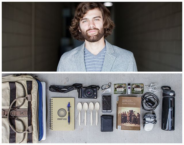 What's In Your Bag series by Jason Travis