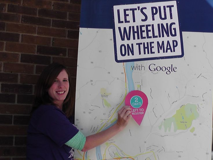 Only 2 days left to register for our event in #Wheeling! Get Your Business On the Map!