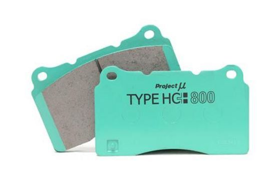 Project Mu 2009-2010 Nissan GTR (R35) HC+800 Rear Brake Pads