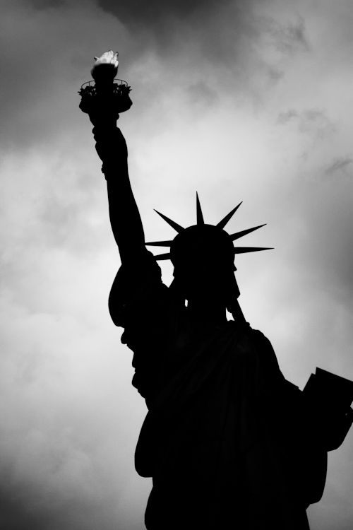 Hisotrical/ biographical : A historical element Lady liberty. Given to NY by the french. Is seen as a sign of hope and freedom.