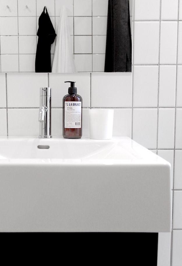 Via Create CPH   Minimal Black and White Bathroom