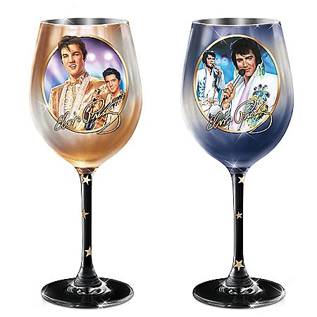 Elvis Signature Wine Glass Collection