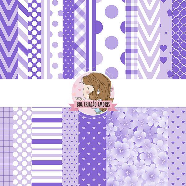 Loja: http://www.elo7.com.br/papel-digital-princesa-sofia-i/dp/50D677 | #scrapbooking #princesasofia #disney #menina #lilás #festa #paper