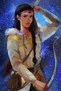 Zoë Nightshade - The official art (by viria), isn't it dam beautiful? <3