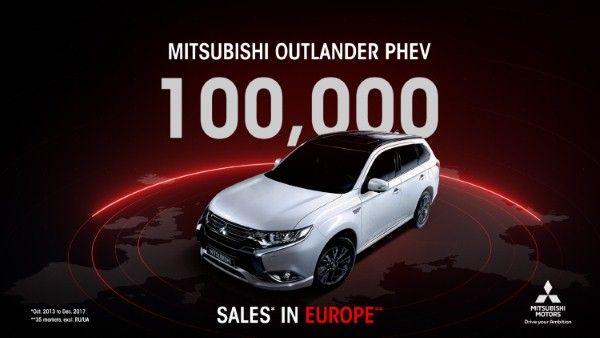 Mitsubishi Outlander PHEV hits six-figure sales