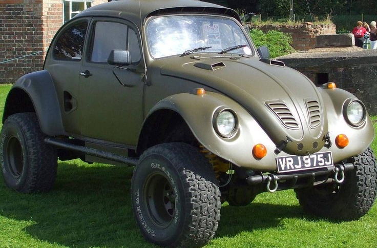 Off-road VW Beetle