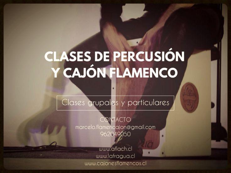 LA PERCUSION EN EL FLAMENCO. Marcelo Montero Clases de Cajon Flamenco y Percusión