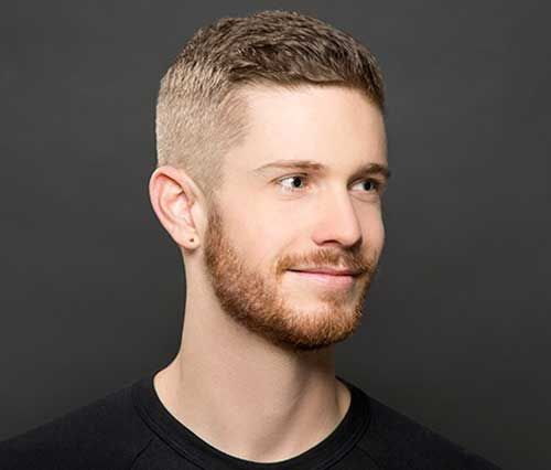 Textured Quiff with Drop Fade - Crew Cut Haircut