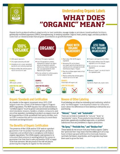 organic certification essay The use of genetic engineering, or genetically modified organisms (gmos), is prohibited in organic products this means an organic farmer can't plant gmo seeds, an organic cow can't eat gmo alfalfa or corn, and an organic soup producer can't use any gmo ingredients.