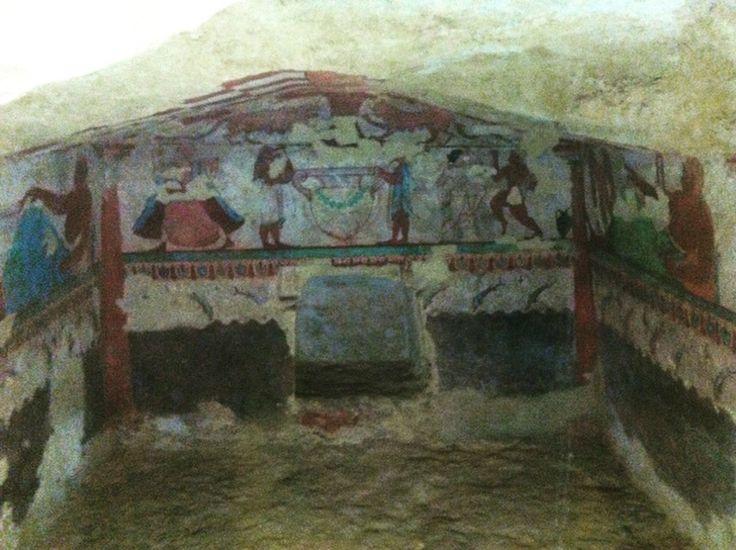 Necropoli di Tarquinia - Italy