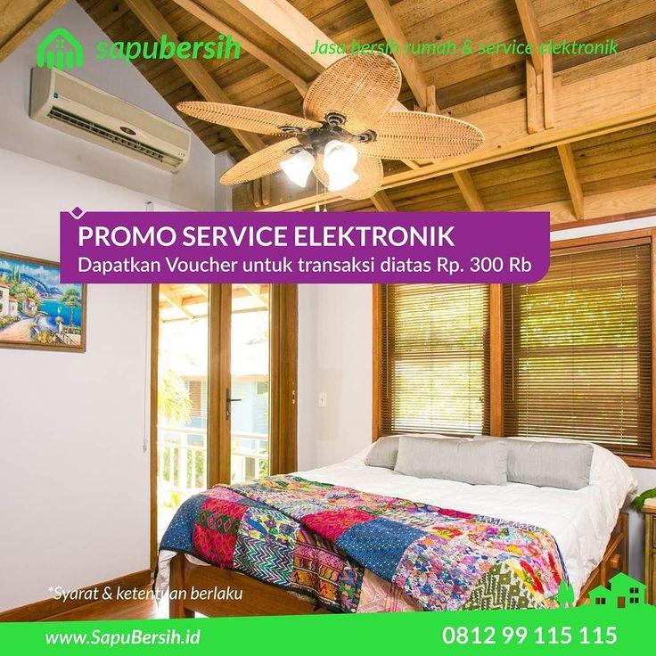 Dapatkan Promo Service Elektronik dengan minimal transaksi 300rb anda bisa mendapatkan Voucher 50rb untuk pengerjaan layanan cleaning dan cuci.  #promoseptember #promosapubersih #eventbdg #promobandung