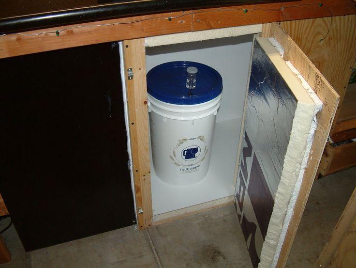 Fermentation chamber from an old mini-fridge