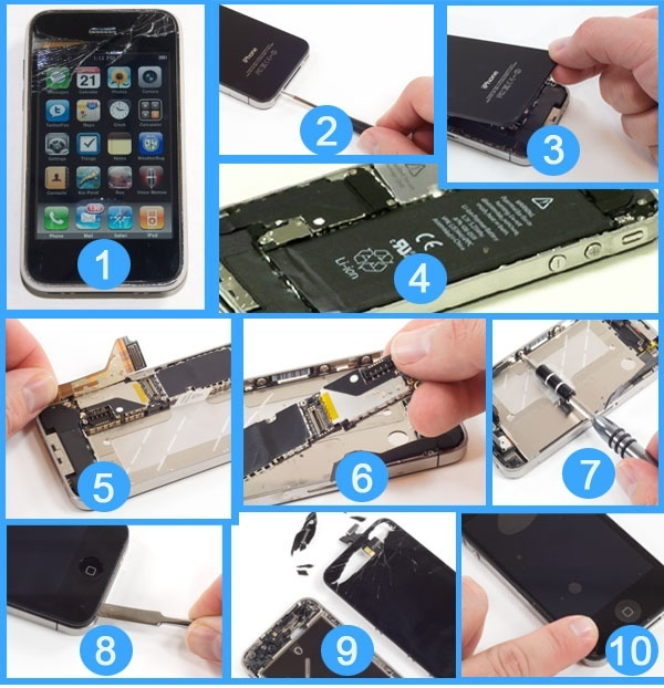 Fix your iPhone broken display | How to Fix your iPhone broken display | Replace your iPhone broken screen