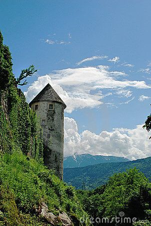 Pergine Castle. Trentino, Italy. South Tower