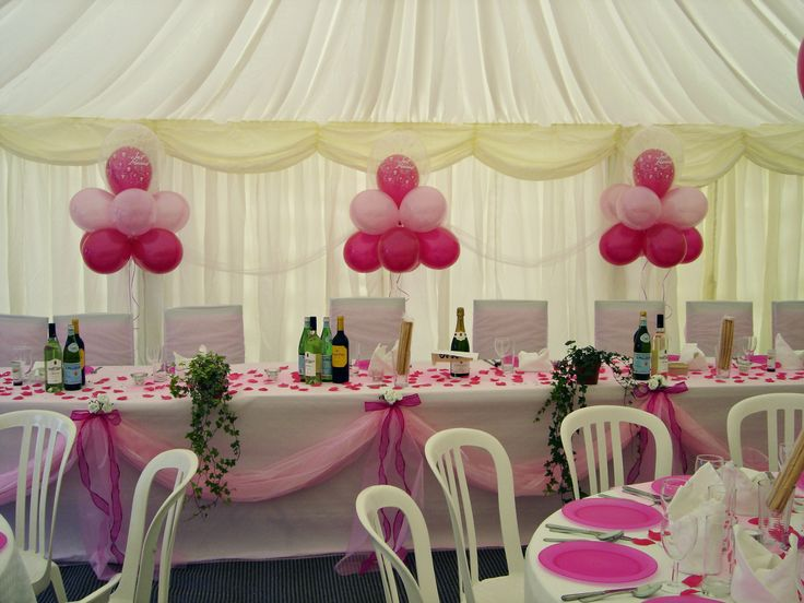 Cloudnine balloons perfect for a wedding marquee for Balloon cloud decoration