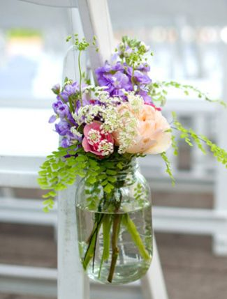 11 Ways To Incorporate Mason Jars Into Your Wedding! | The Knot Blog – Wedding Dresses, Shoes, & Hairstyle News & Ideas
