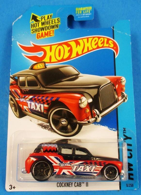 Hot Wheels HW City cockney Cab II 8//250 Mattel