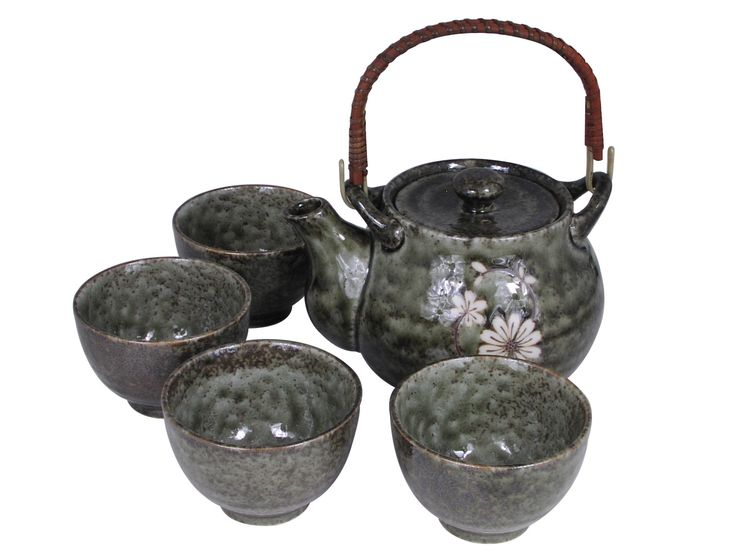 Serene Meadow of Cosmos Oriental Tea Set for Four  sc 1 st  Pinterest & 34 best Japanese Tableware images on Pinterest | Dinnerware ...