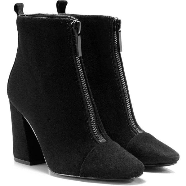 Suede Raquel Chelsea Boots ($205) ❤ liked on Polyvore featuring shoes, boots, beatle boots, chelsea ankle boots, chelsea boots, black boots and suede chelsea boots