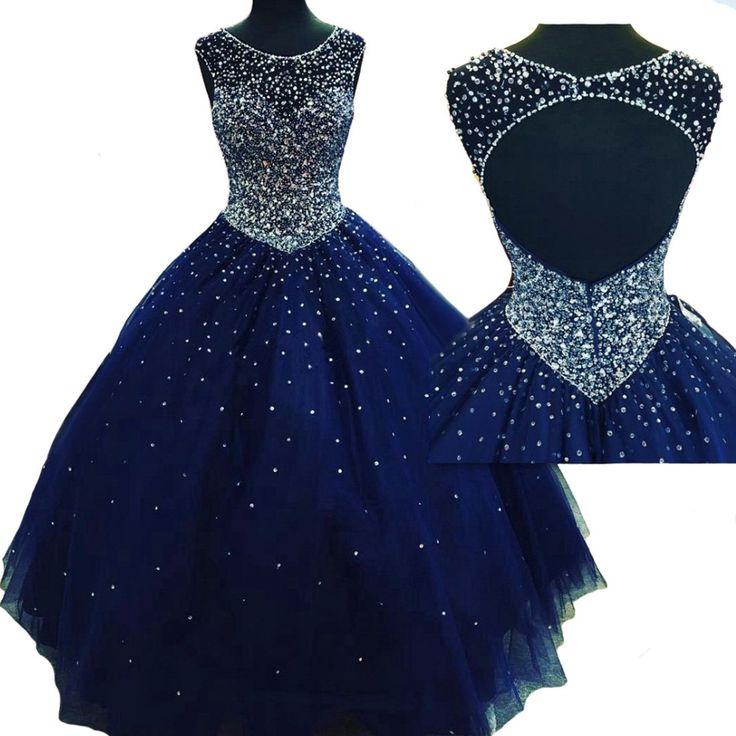 Weierxi Women's Royal Blue Quinceanera Dresses Sweet 16 Dresses Ball Gowns (10)