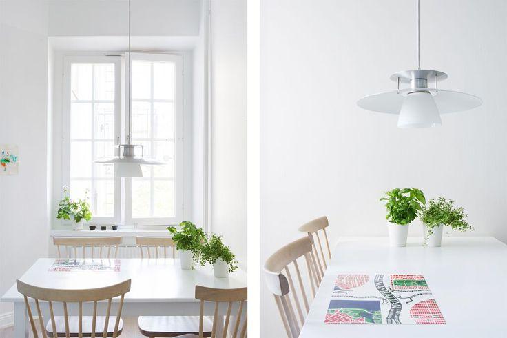 Kitchen dining table - Lilla Åland chair - ESNY - Eklund Stockholm New York