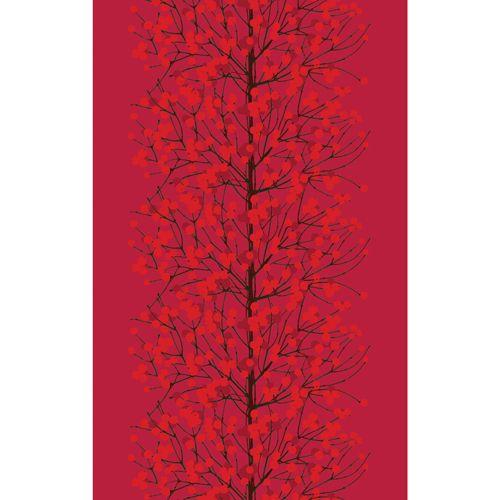 Marimekko Lumimarja Small Red Tablecloth  Sale: $63.00