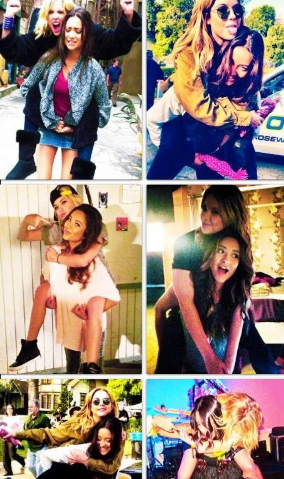 Friendship!♥♥ Ashley Benson and Shay Mitchell