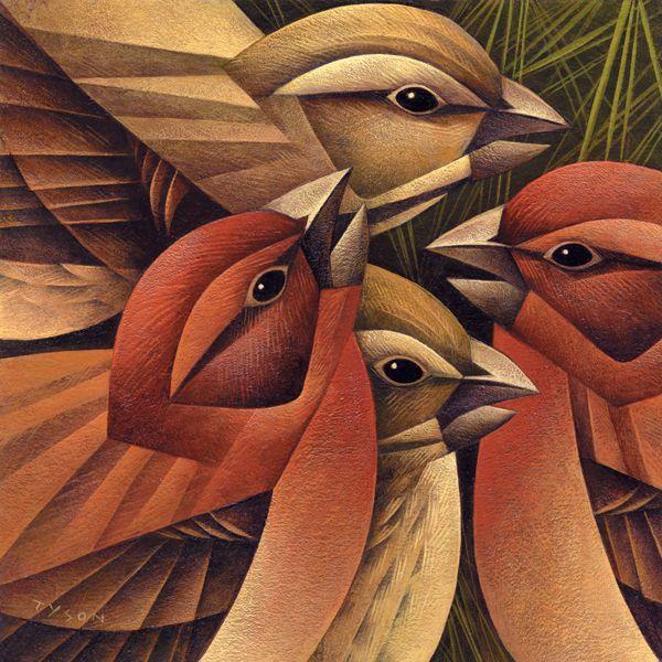 Beautiful bird illustrations by Sara Tyson   InspireFirst