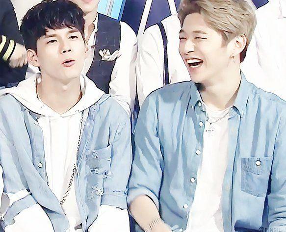 Seongwoo e Daniel