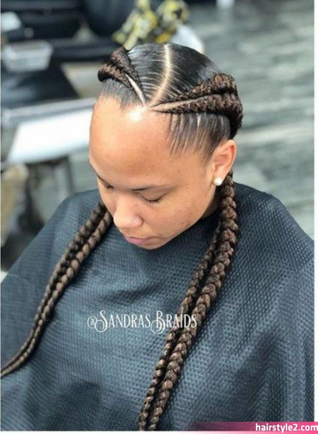 18 Ideas For Braids Hairstyles Cornrows Two 18 Ideas For Braids Hairstyles Cornrows Two See D In 2020 African Braids Hairstyles Two Braid Hairstyles Cornrow Hairstyles
