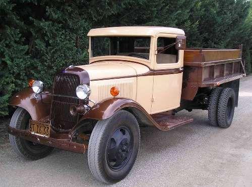 1934 Ford Dump Truck For Sale in California | AntiqueCar.com