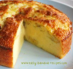 Vietnamese banana cake (with coconut)  Omg i made this and its REALLY yummy