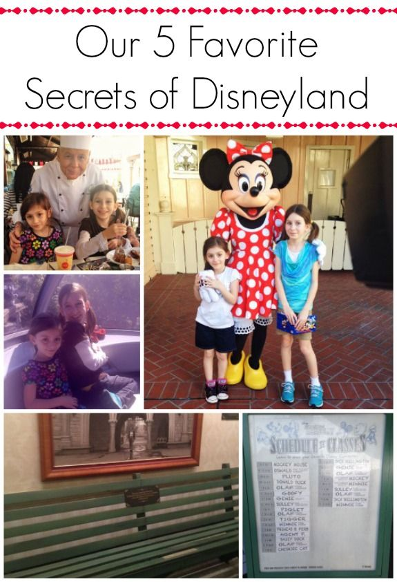 Our 5 Favorite Secrets of Disneyland #DisneySMMoms