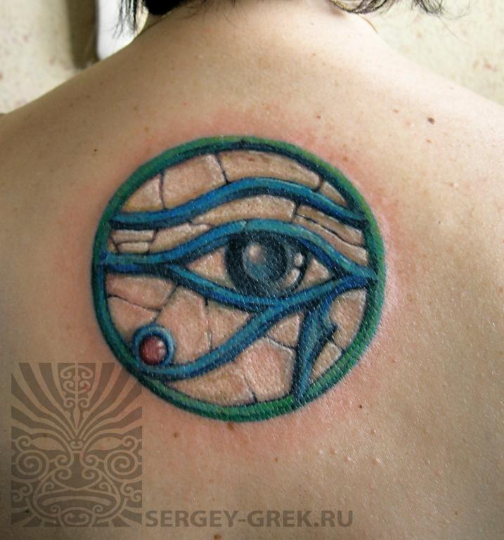 Египетская татуировка ока - Фото египетских татуировок - Фото татуировок