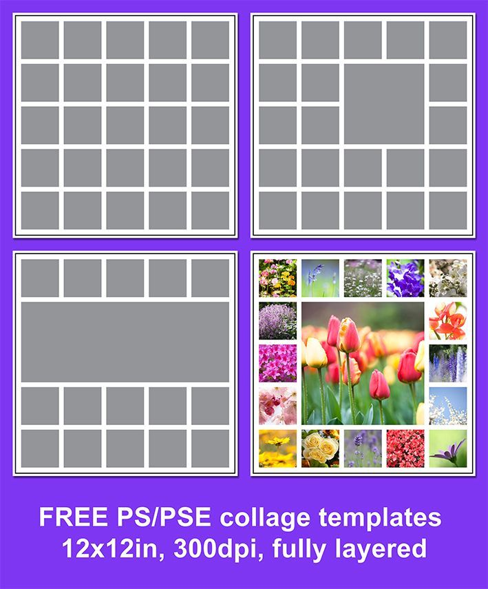 Free downloadable photo collage templates for photoshop for Free online photo collage templates