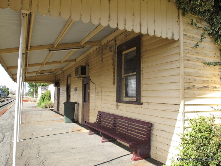 Murtoa Railway Station in 2012.