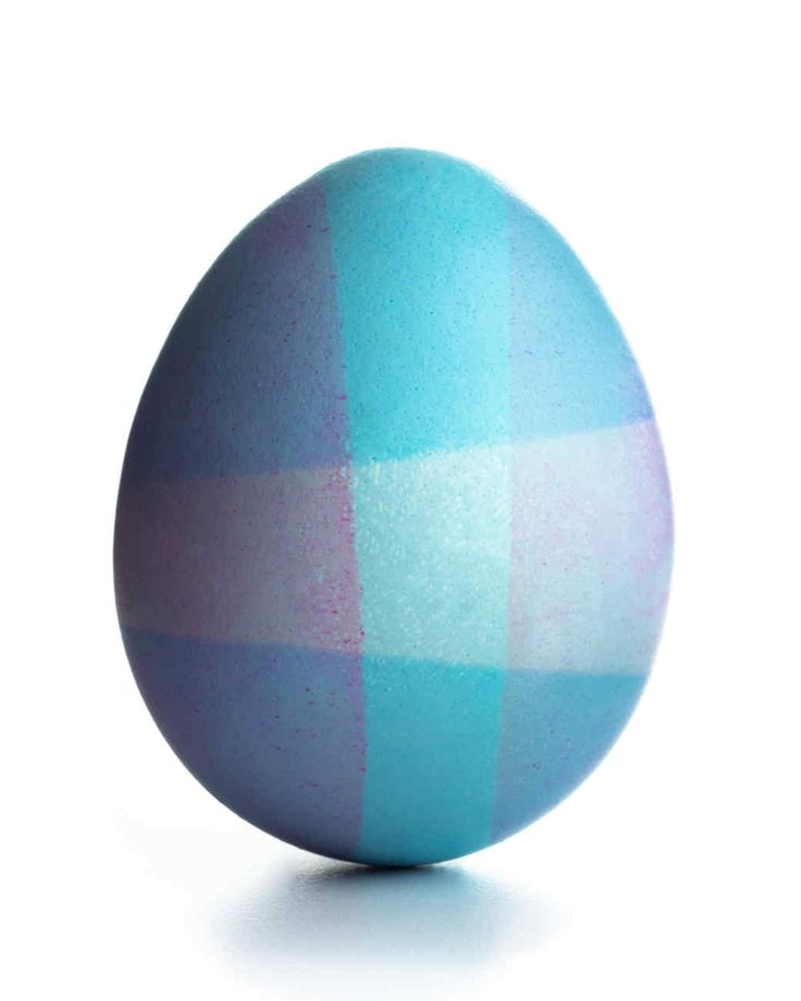 Dipped Designs | Martha Stewart Living - To make a tritoned dipped egg, dye the whole egg first in a light color, let dry for 15 minutes, and then submerge both top and bottom into a darker color (leaving the center exposed)