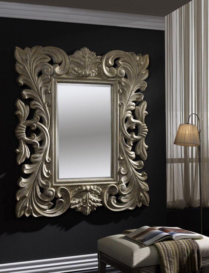 Las 25 mejores ideas sobre espejos de pared decorativos for Espejos decorativos plateados