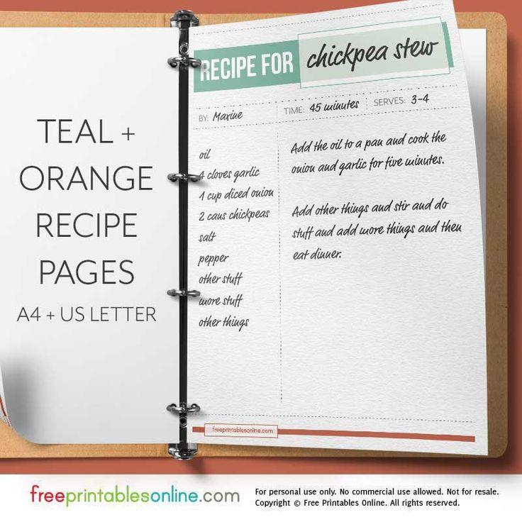 online journal template