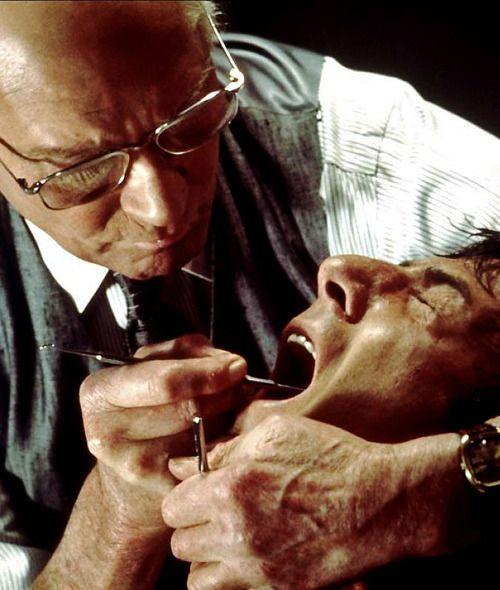 Laurence Olivier and Dustin Hoffman  Marathon Man | 1976