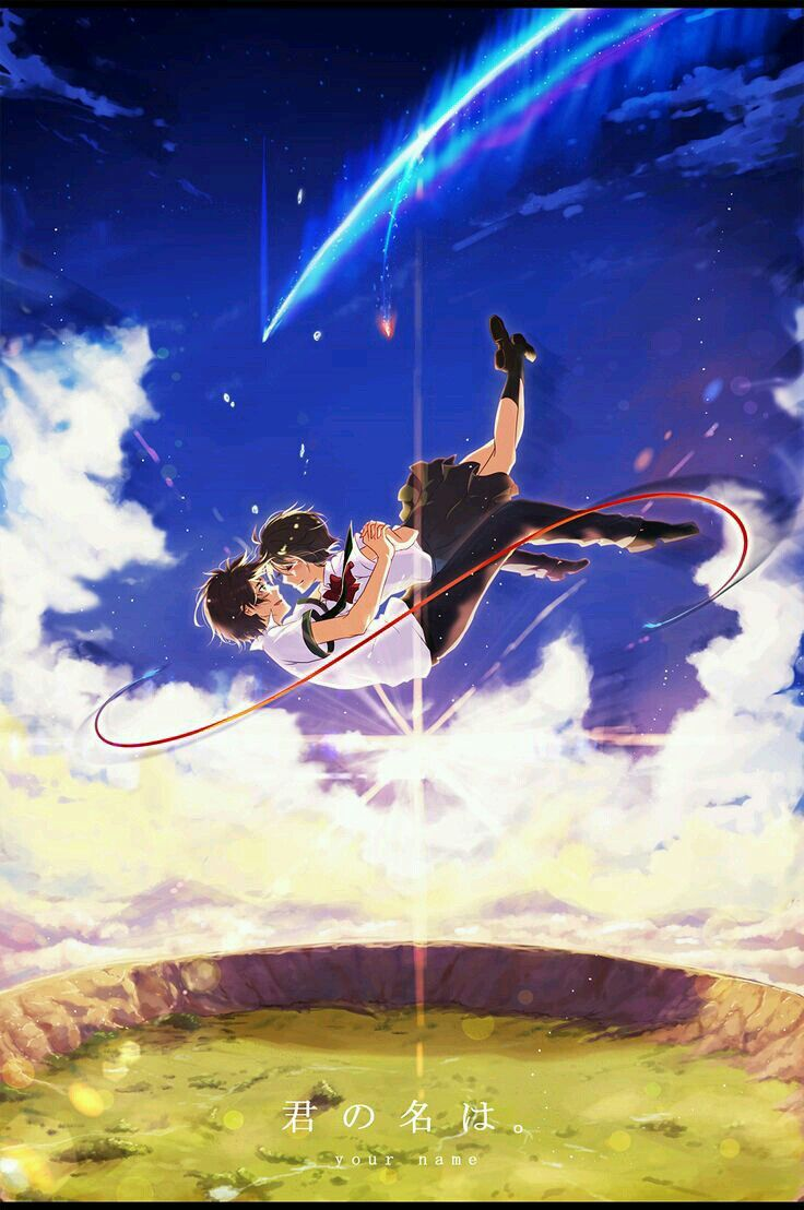 Kimi No Na Wa Peliculas De Anime Kimi No Na Wa Imagenes De Pusheen