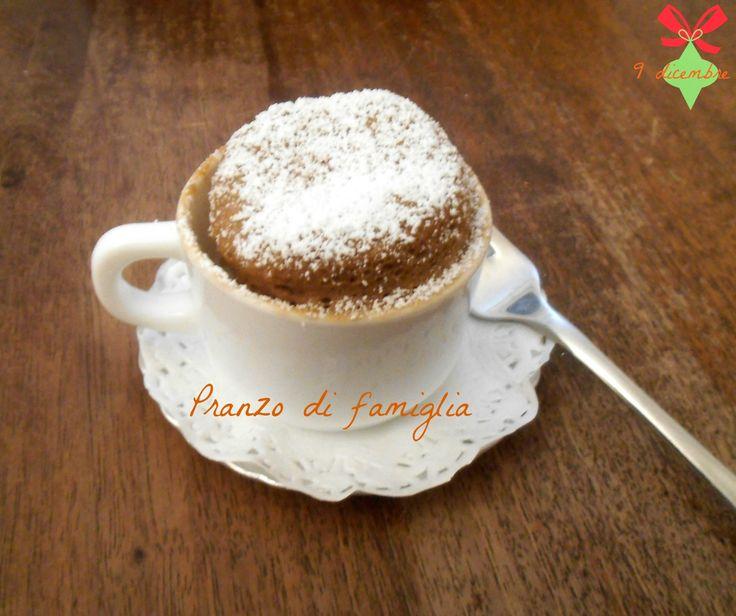 9 dicembre Una torta in 5 minuti http://www.pranzodifamiglia.it/una-torta-in-5-minuti-in-tazza/