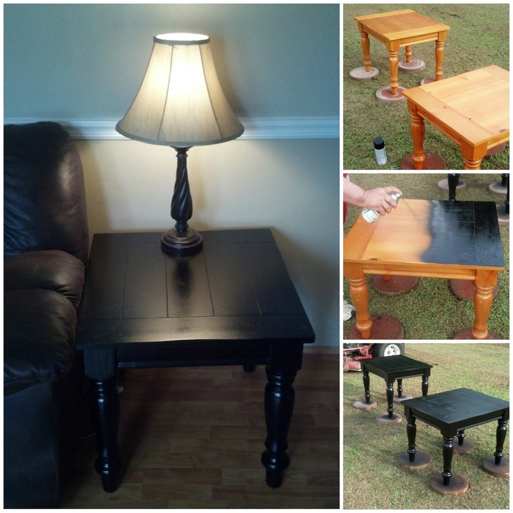 do your tables need a facelift mine did painting tables are much. Black Bedroom Furniture Sets. Home Design Ideas