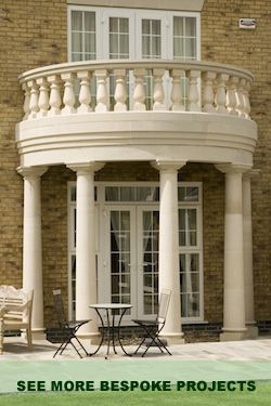 how to build a curved portico