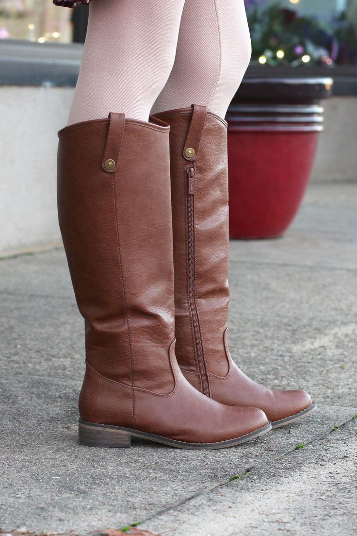 Stirrup Rider Boots {Tan} - The Fair Lady Boutique - 1